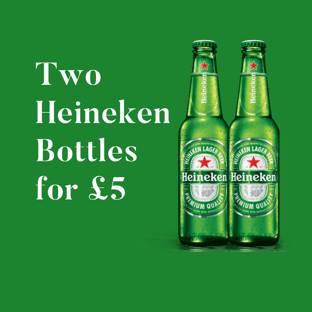 Heineken Offer! 2 for £5