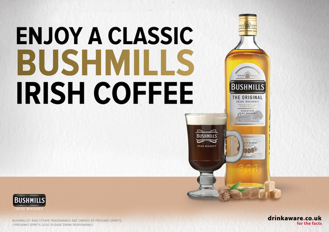 Bushmills Irish Coffee for £4.50