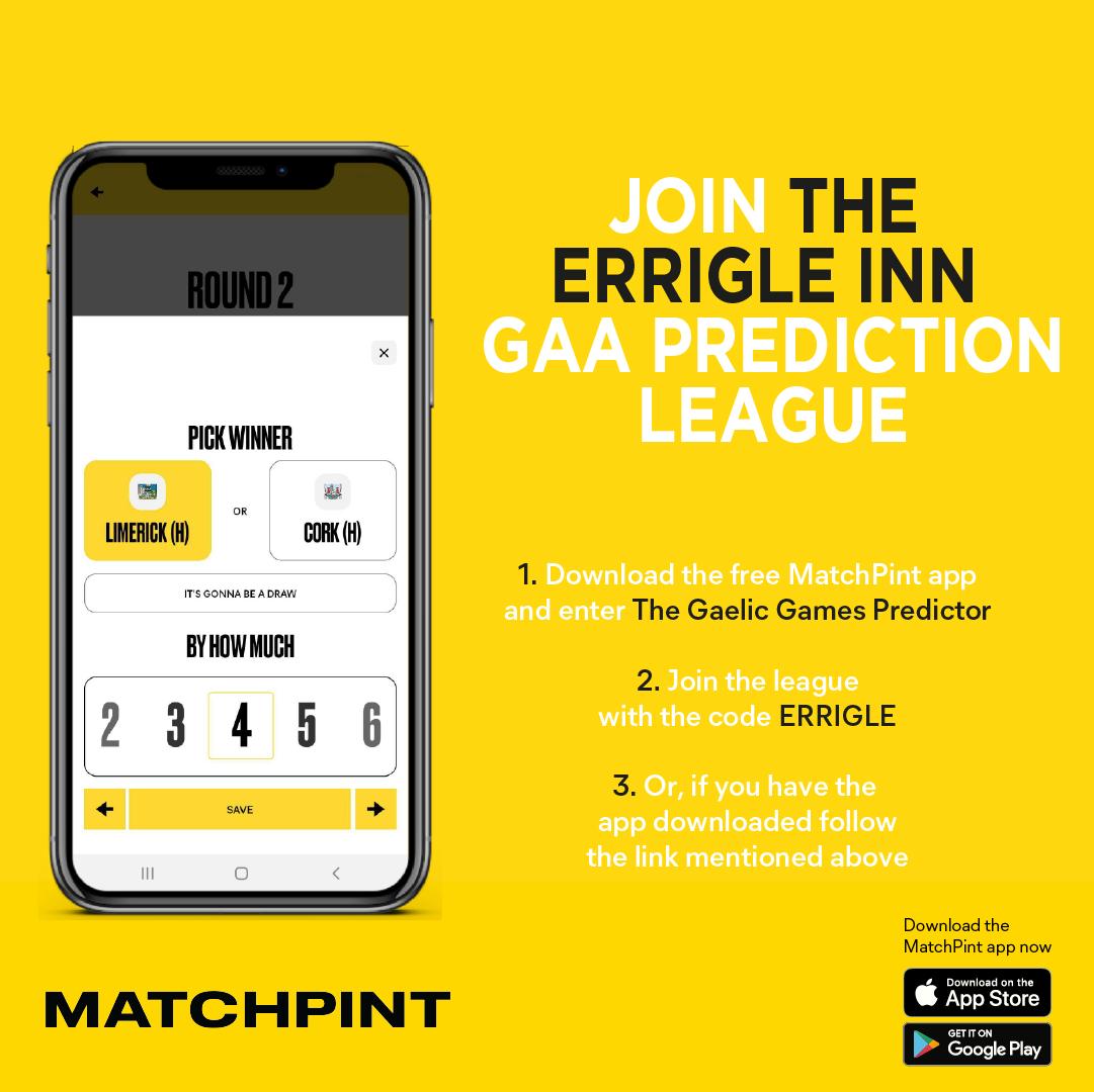 MatchPint GAA Prediction League